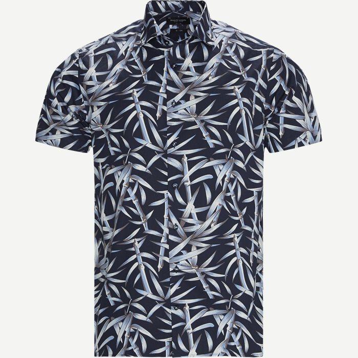 Bonanno Kortærmet Skjorte - Kortærmede skjorter - Modern fit - Blå