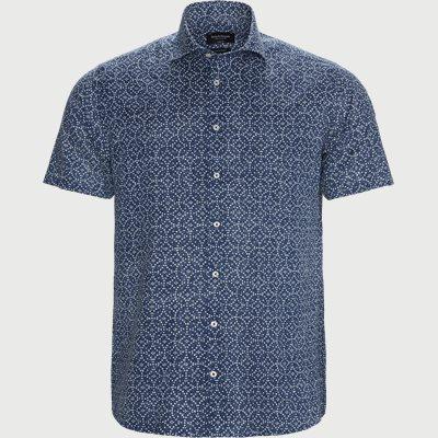 Cohen Kortærmet Skjorte Modern fit | Cohen Kortærmet Skjorte | Blå