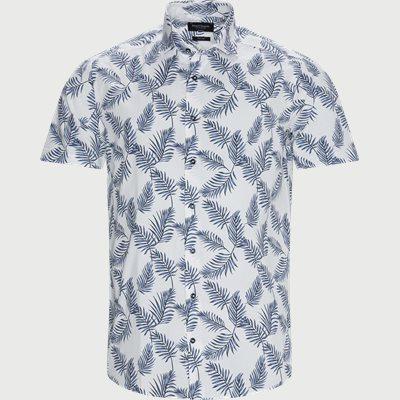 Columbo Kortærmet Skjorte Modern fit   Columbo Kortærmet Skjorte   Hvid