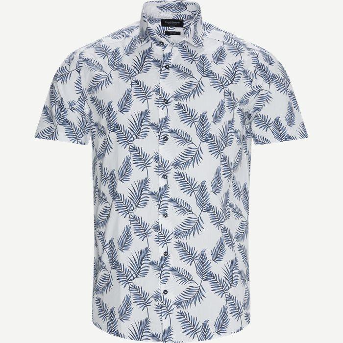 Columbo Kortærmet Skjorte - Kortærmede skjorter - Modern fit - Hvid
