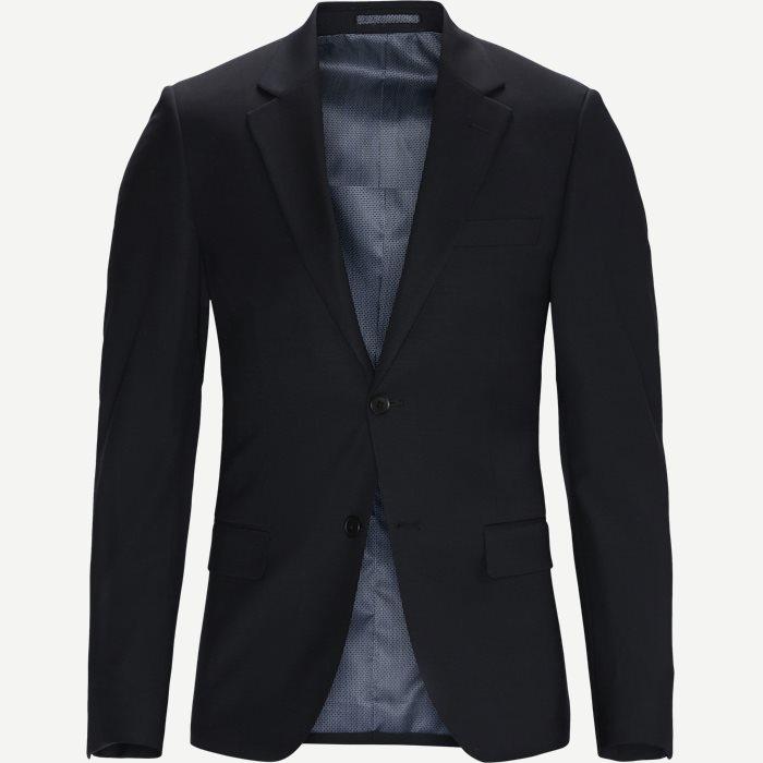 Hardmann Suit Blazer - Blazer - Slim - Sort