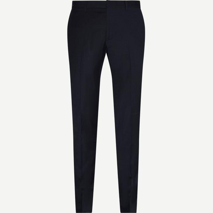 Hardmann Suit Pants - Bukser - Slim - Blå