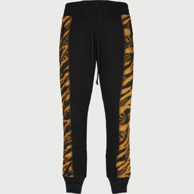 Fleece Print Tiger Sweatpant Regular | Fleece Print Tiger Sweatpant | Sort