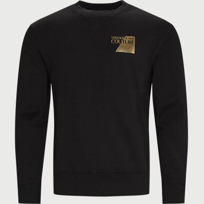 Logo Crewneck Sweatshirt Slim | Logo Crewneck Sweatshirt | Sort