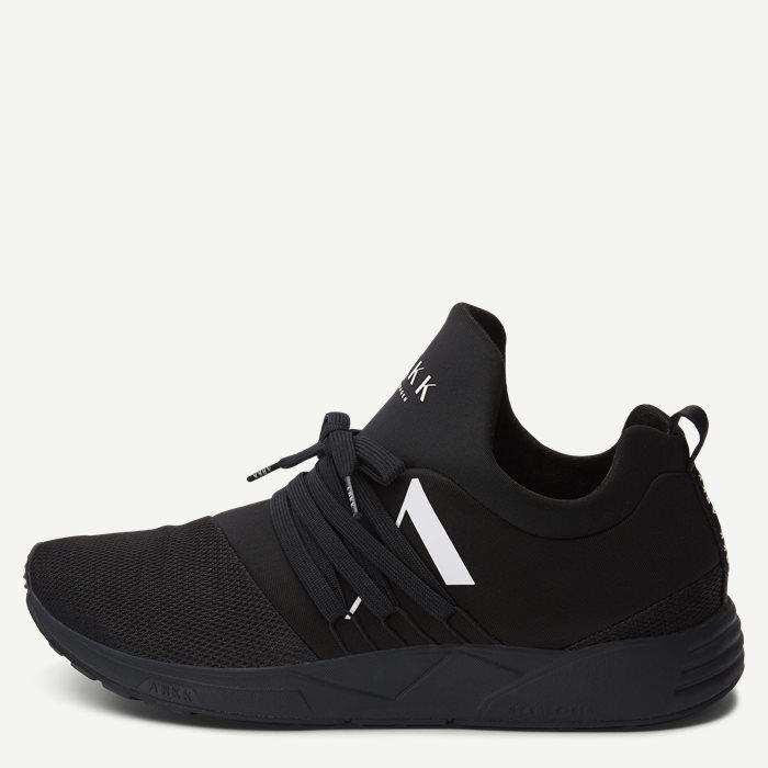 Raven Mesh S-E15 Sneaker - Sko - Sort