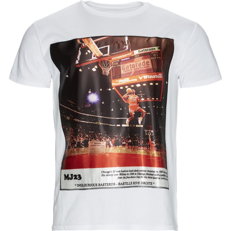 Image of   BASTILLE Regular fit MJ23 ICON T-shirts Hvid