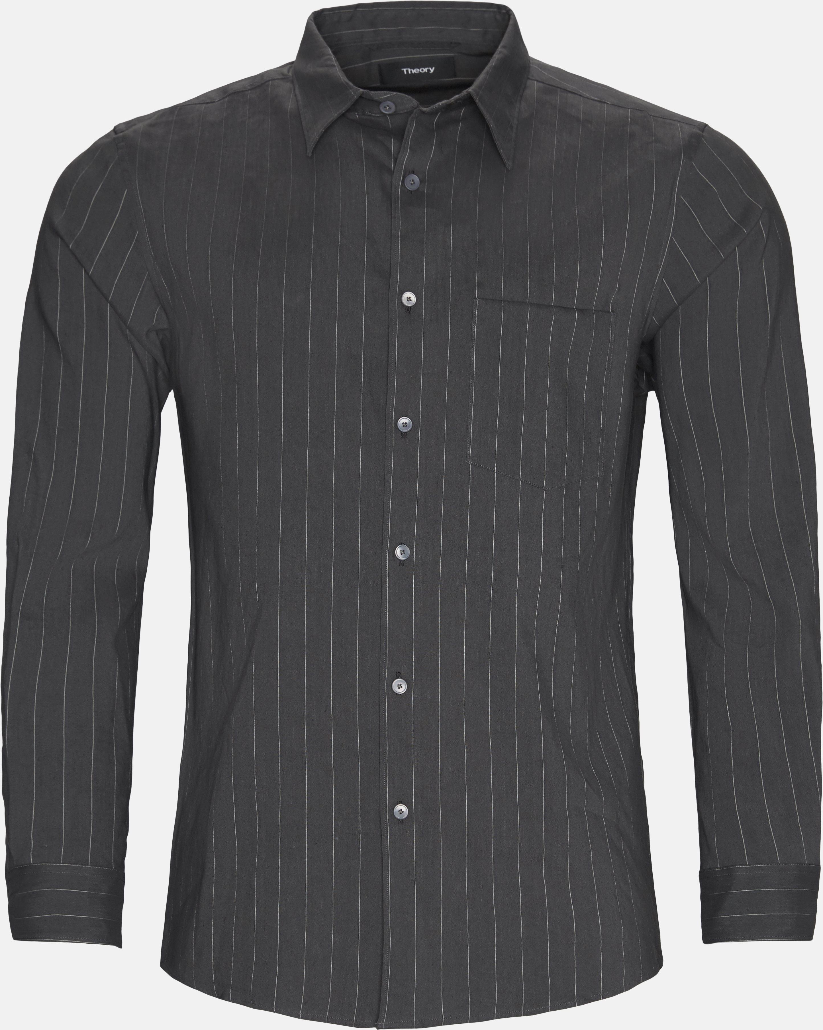 Skjorter - Regular fit - Grå