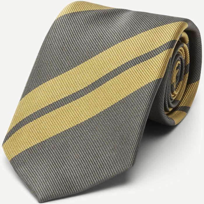 Les Deux X An Ivy Regiment Tie - Slips - Army