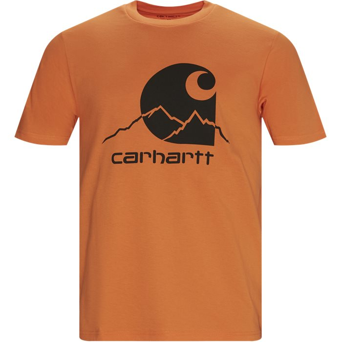 Outdoor C Tee - T-shirts - Regular - Orange