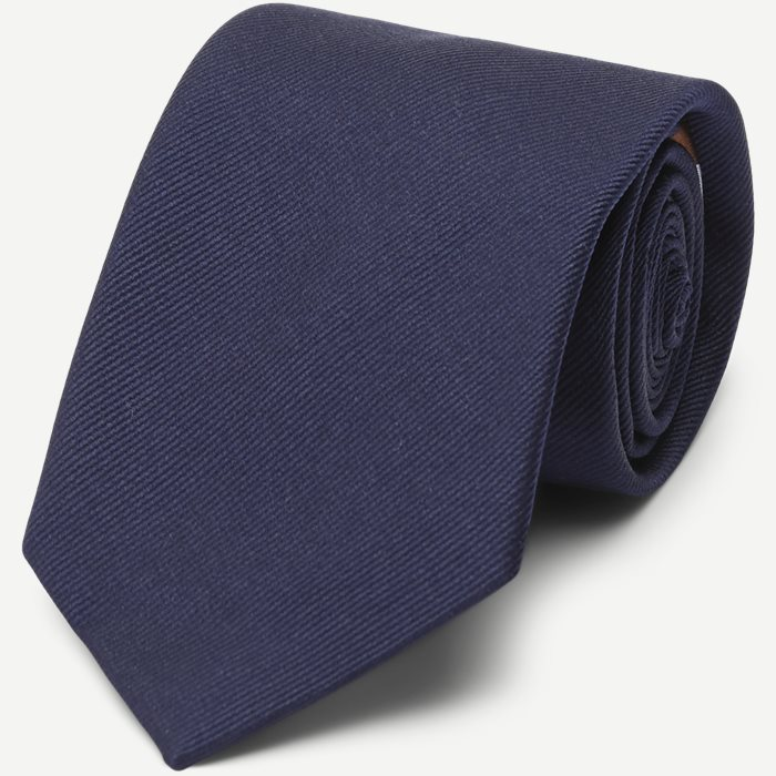 The Navy Signature Flag Tie - Slips - Blå