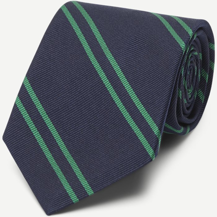 Navy Green School Slips - Slips - Blå