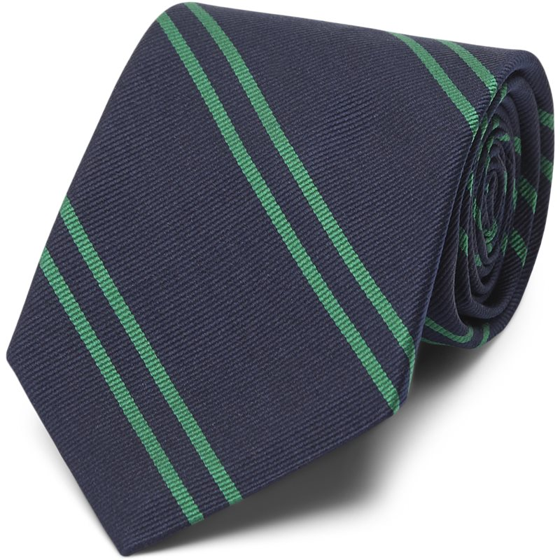 Image of   An Ivy - NAVY GREEN SCHOOL TIE Slips