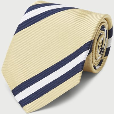 Dusted Yellow Striped Tie Dusted Yellow Striped Tie | Gul