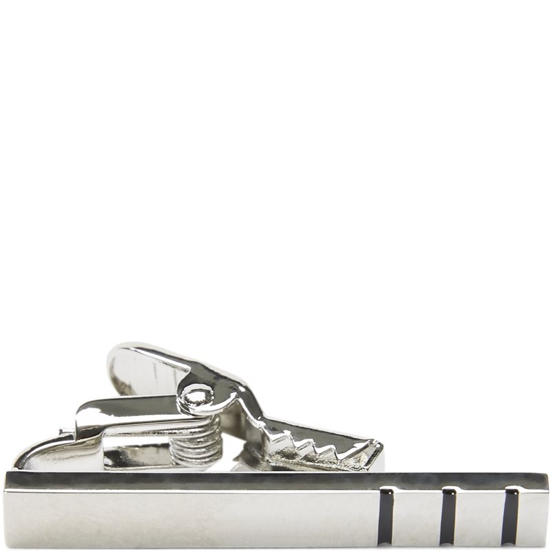 Image of An Ivy - TRIPLE STRIPED SILVER BAR Accessories