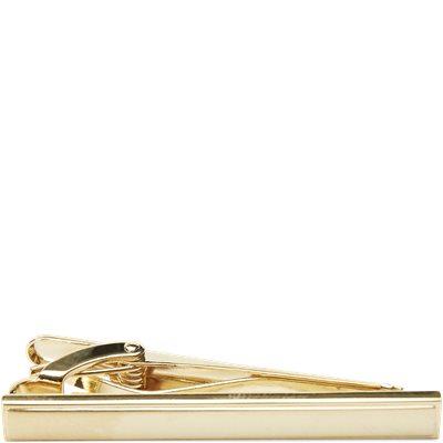 Brushed Golden Bar Slipsenål Brushed Golden Bar Slipsenål | Gul