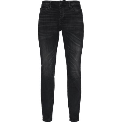 Tapered fit | Jeans | Grå