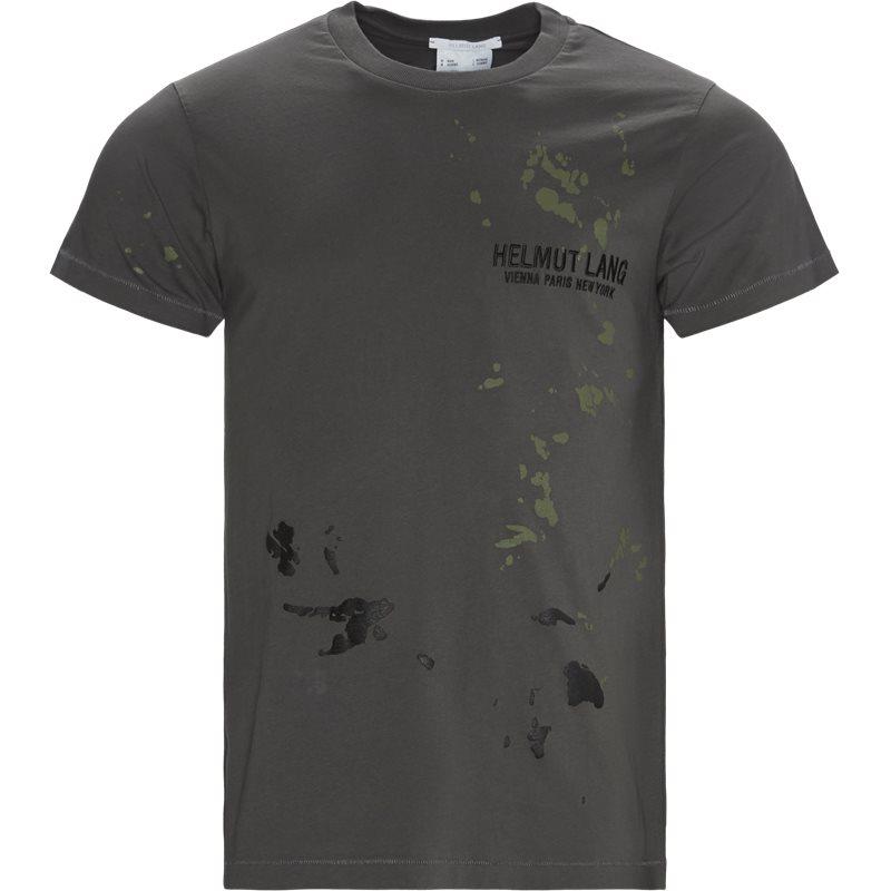Image of   HELMUT LANG Regular fit K01DM508 STANDARD TEE PAINTER T-shirts Grey