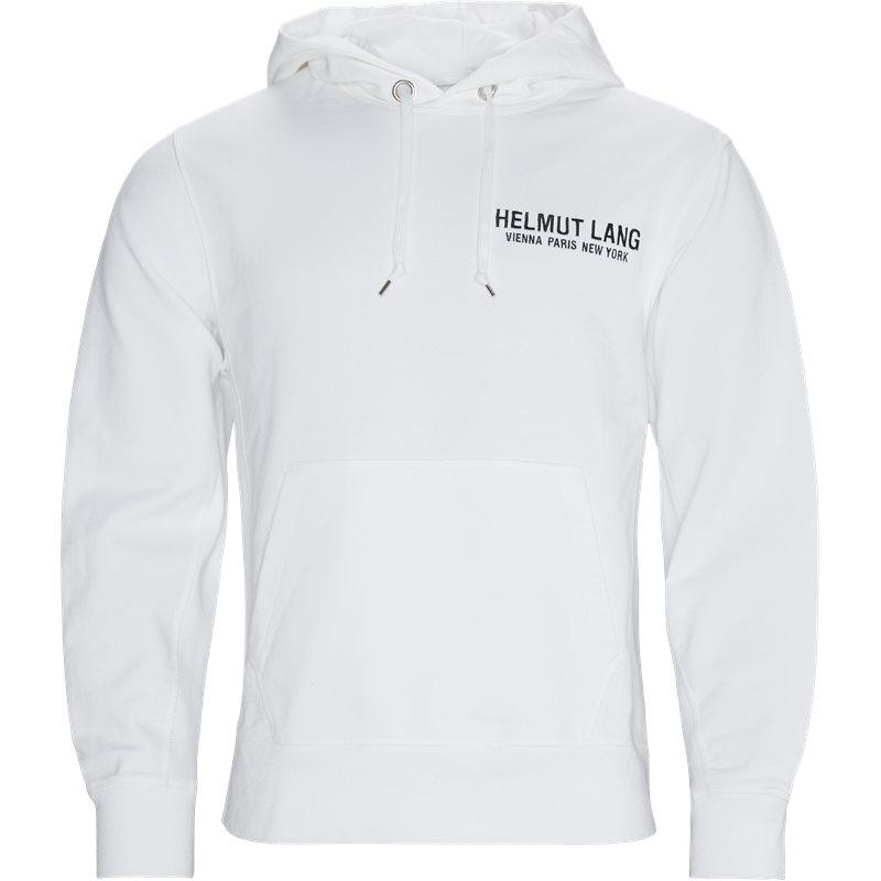 Image of   HELMUT LANG Regular fit K0DM5009 STANDARD HOODIE EAGLE Sweatshirts White