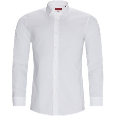 Elisha02 Shirt Ekstra slim fit | Elisha02 Shirt | Vit