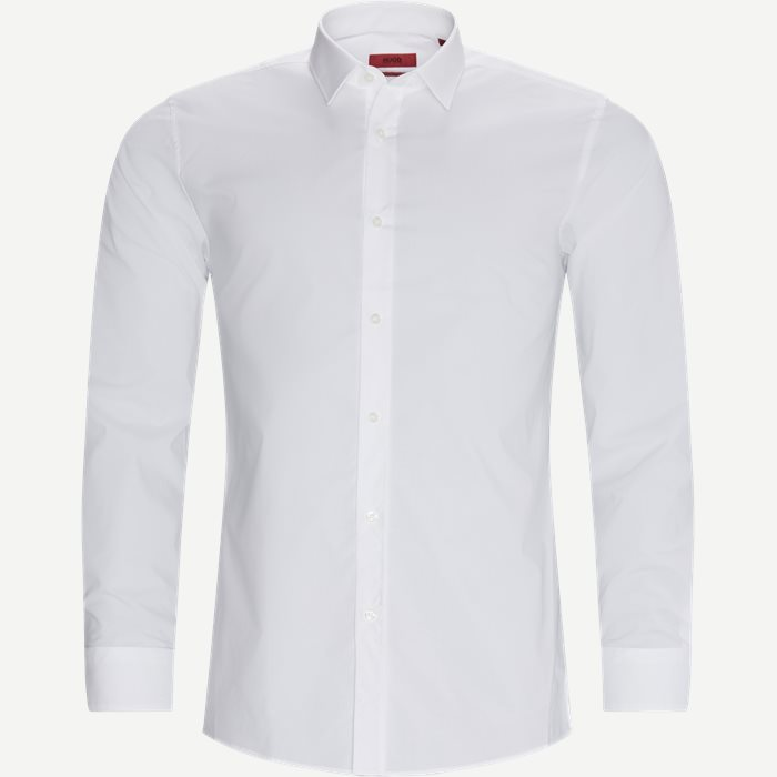 Elisha02 Shirt - Skjortor - Ekstra slim fit - Vit