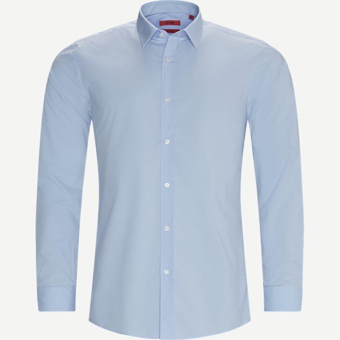 Elisha02 Shirt - Skjorter - Ekstra slim fit - Blå