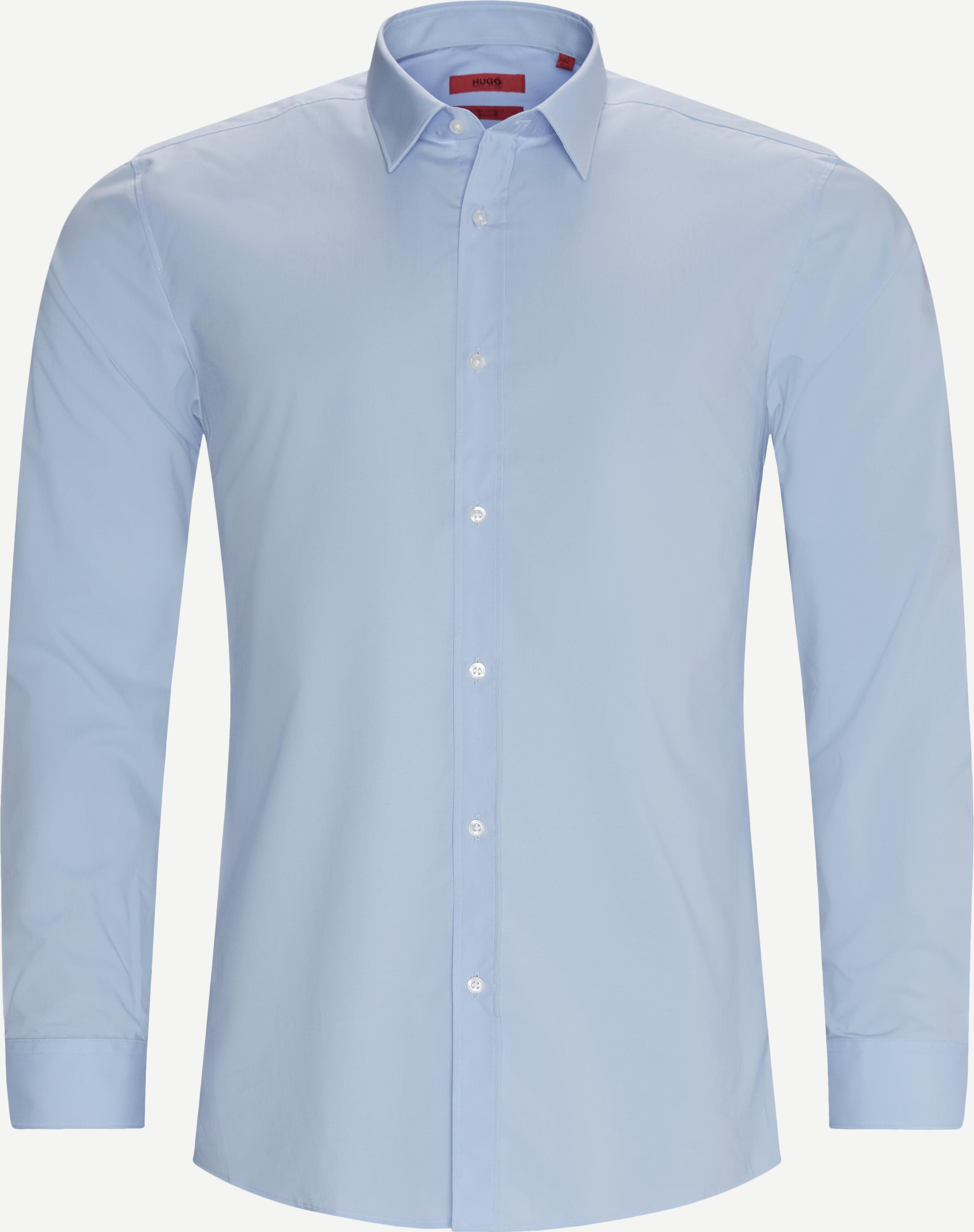 Elisha02 Shirt - Skjortor - Ekstra slim fit - Blå