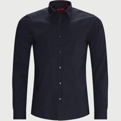 Elisha02 Shirt Ekstra slim fit | Elisha02 Shirt | Blå