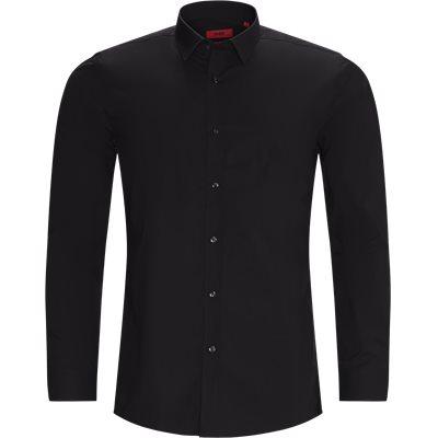 Elisha02 Shirt Ekstra slim fit | Elisha02 Shirt | Svart