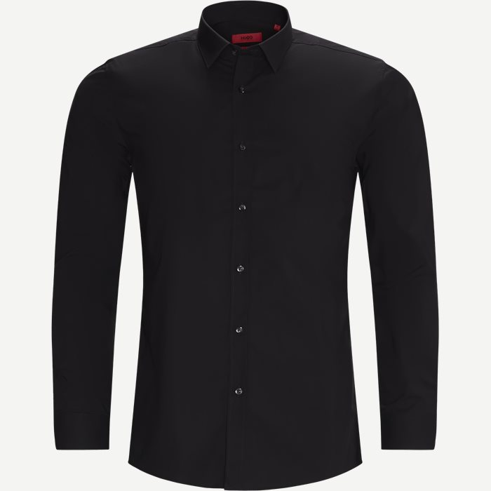 Elisha02 Shirt - Skjortor - Ekstra slim fit - Svart