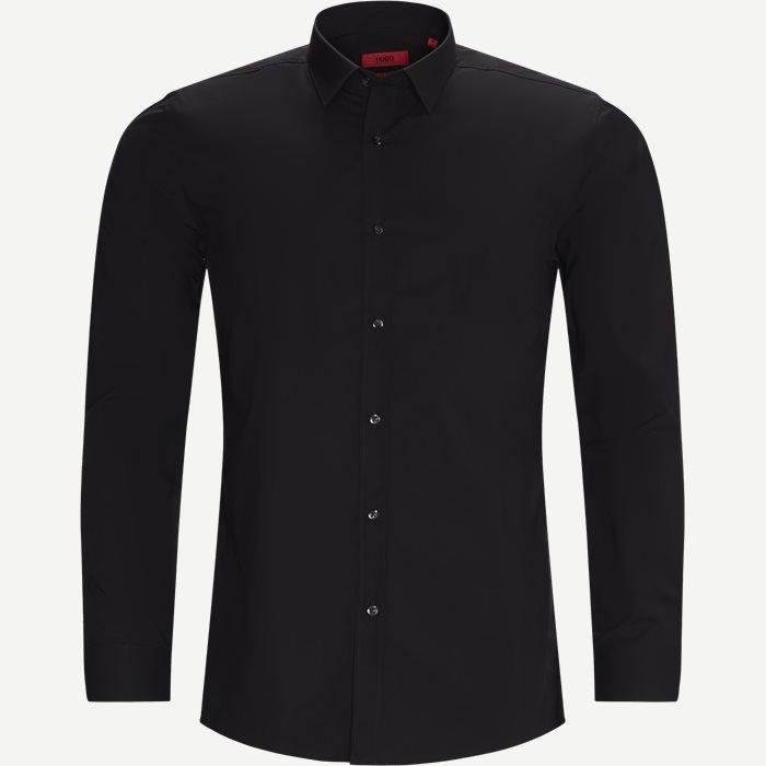 Elisha02 Shirt - Skjorter - Ekstra slim fit - Sort