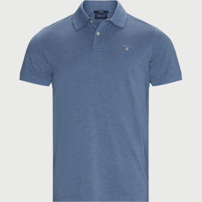 The Original Piqué SS Rugger Polo T-shirt Regular | The Original Piqué SS Rugger Polo T-shirt | Denim