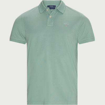 The Original Piqué SS Rugger Polo T-shirt Regular | The Original Piqué SS Rugger Polo T-shirt | Grøn