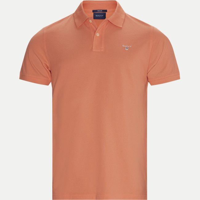 kvalitetsdesign nytt koncept ny ankomst 2201- SS20 T-shirts ORANGE from Gant 68 EUR