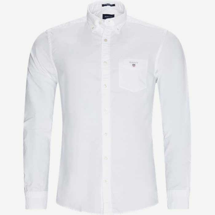 The Oxford Shirt - Skjorter - Regular - Hvid