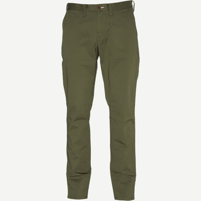 Twill Chino - Bukser - Slim - Army