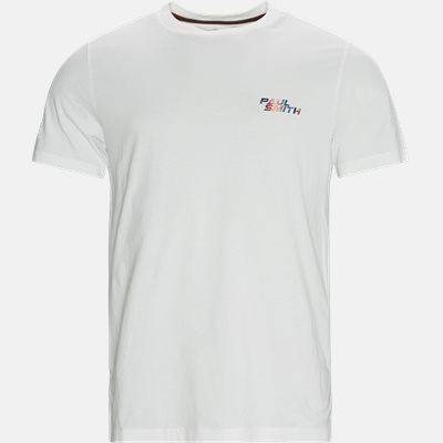 Regular fit | T-shirts | Hvid