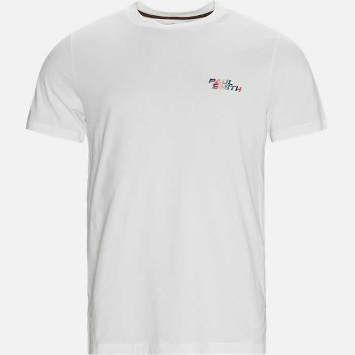 T-shirts - Regular fit - Hvid