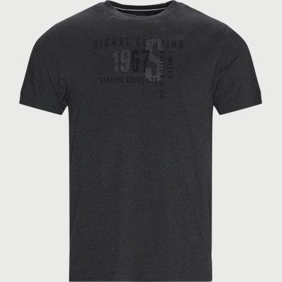 Wayne Logo T-shirt Regular | Wayne Logo T-shirt | Grå