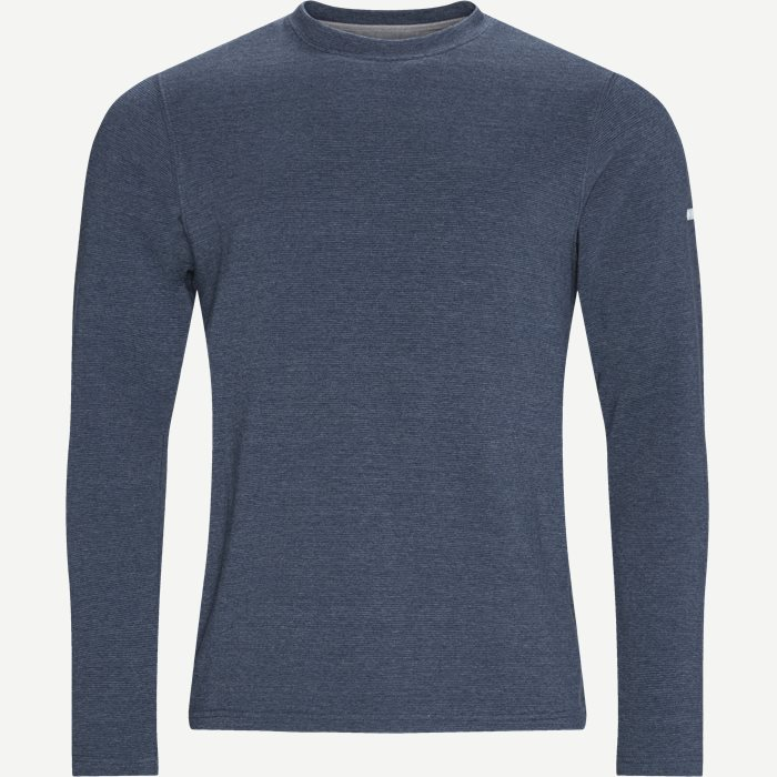 Heitur Sweatshirt - Sweatshirts - Regular - Denim
