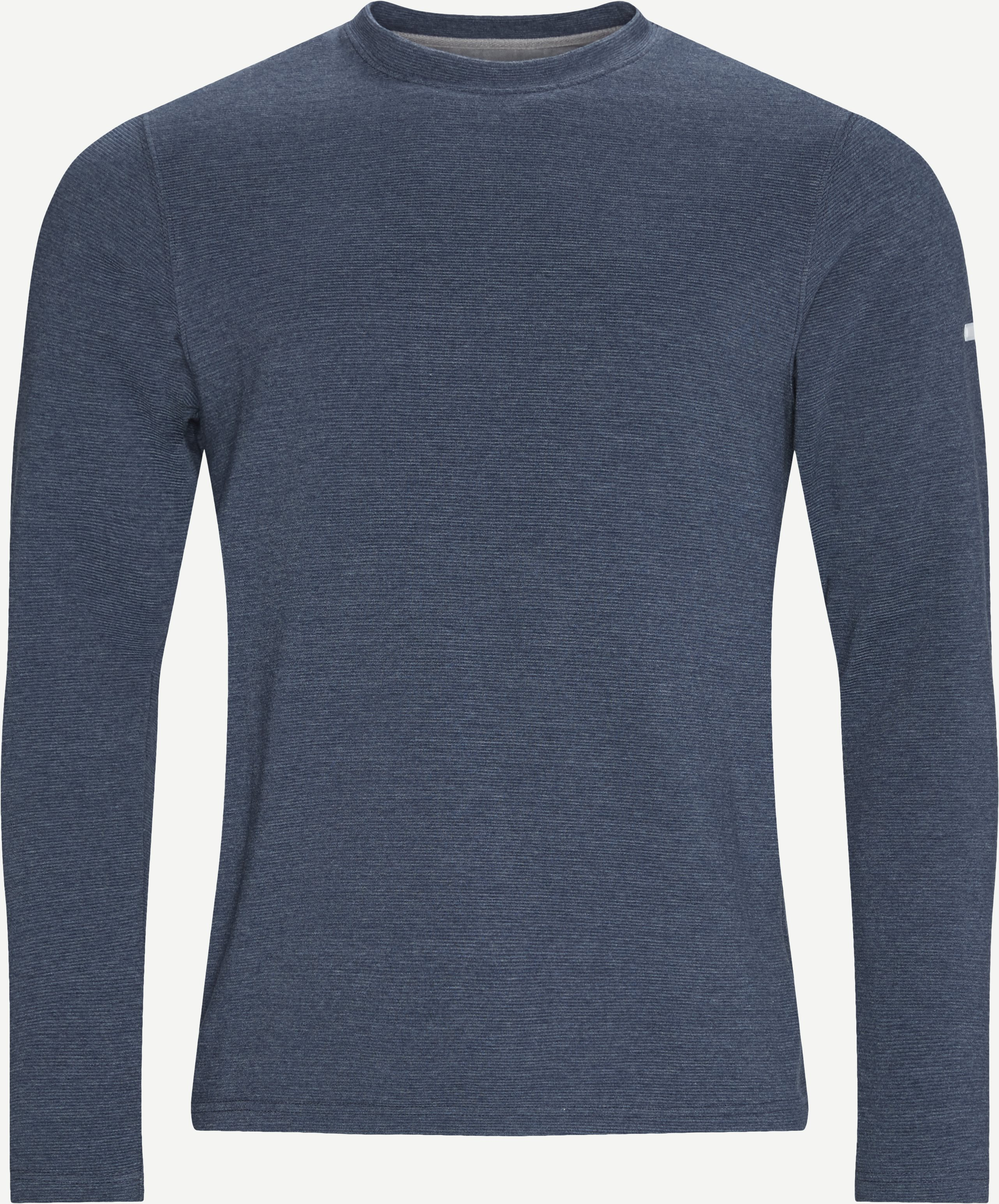Sweatshirts - Regular - Jeans-Blau