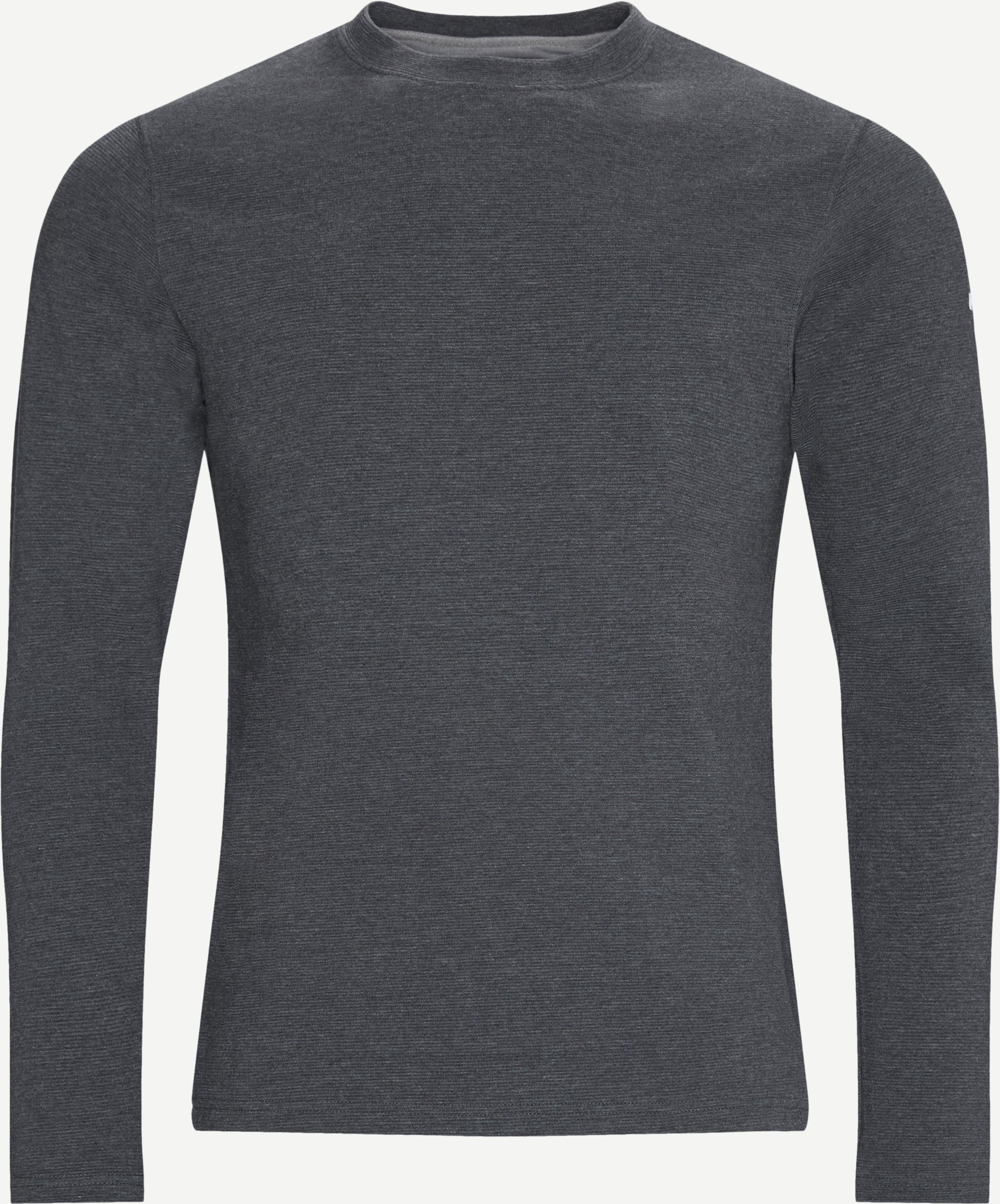 Heitur Sweatshirt - Sweatshirts - Regular fit - Grå
