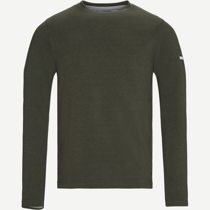 Heitur Sweatshirt - Sweatshirts - Regular - Army