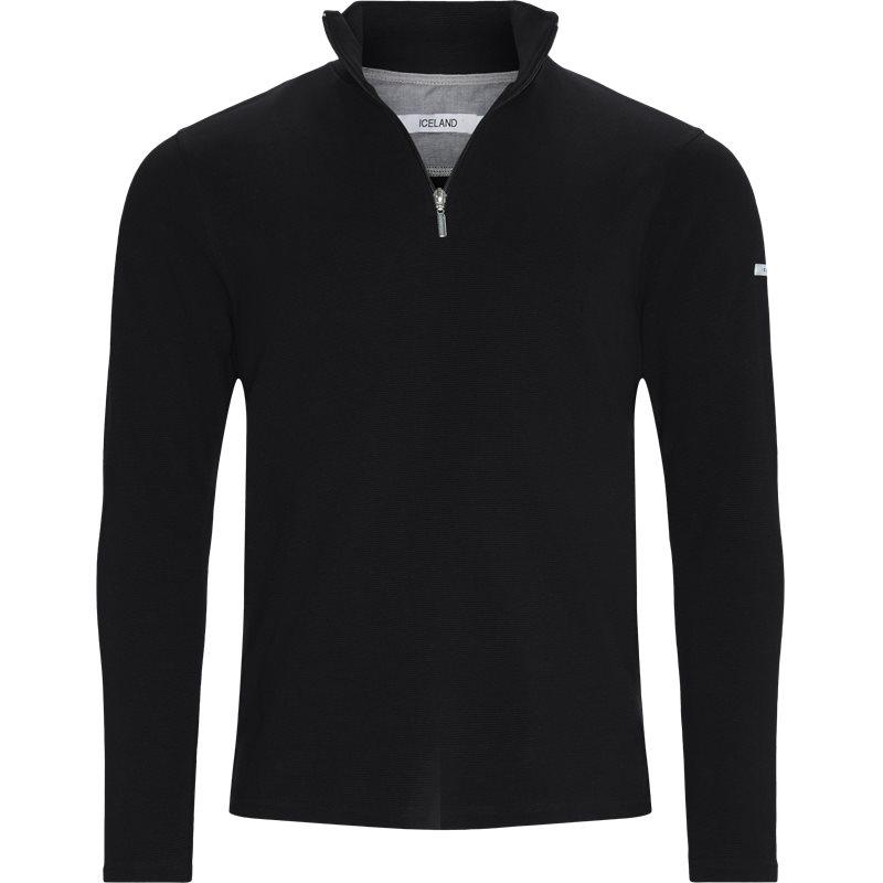 Island - bjørk half zip sweatshirt fra island på kaufmann.dk