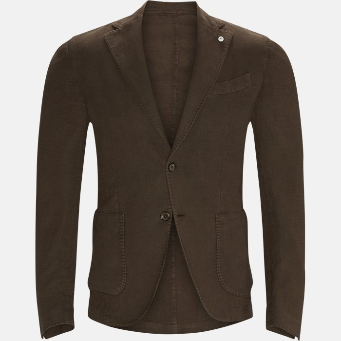 Blazer - Regular fit - Brun