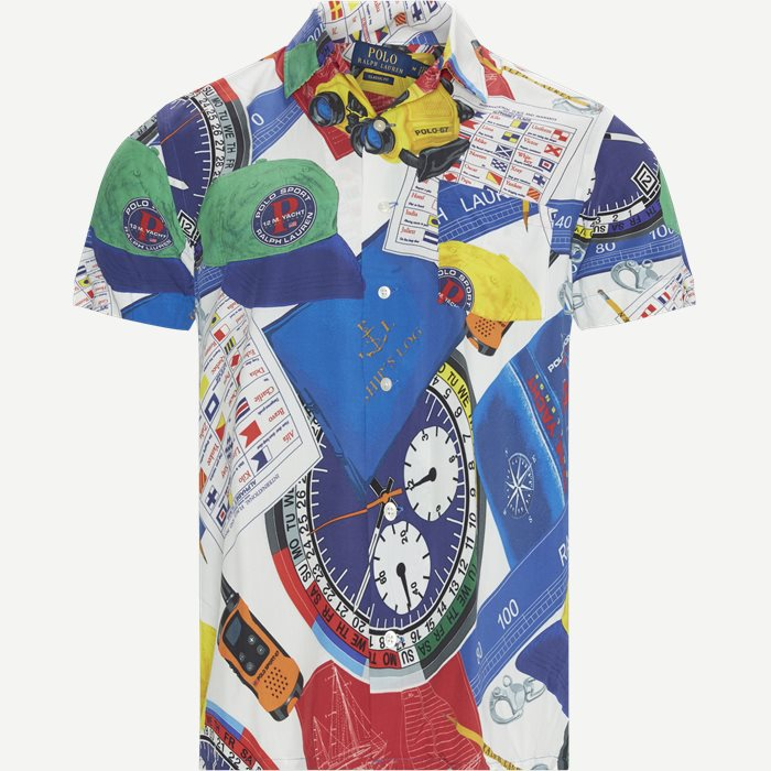 Kortärmade skjortor - Classic fit - Vit