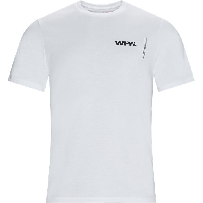 Why Tee - T-shirts - Regular - Hvid