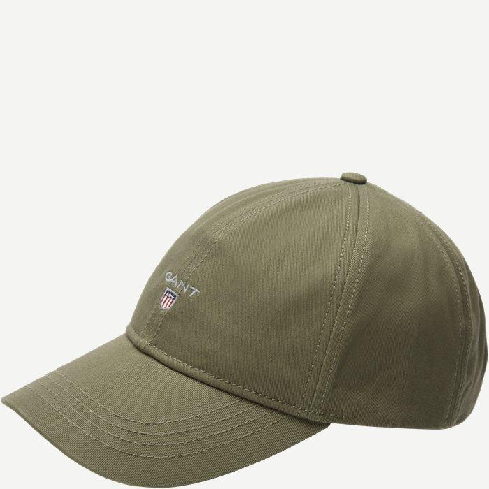 Gant Twill Cap  - Caps - Grøn