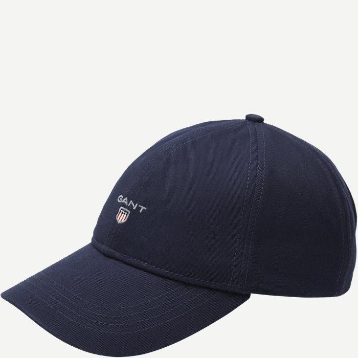 Gant Twill Cap  - Caps - Blå