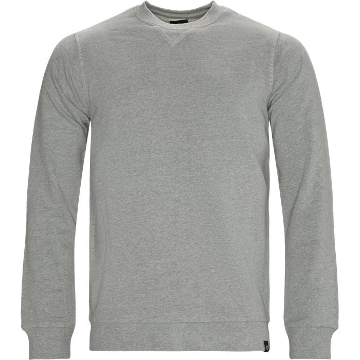 Washington Crew Neck Sweatshirt - Sweatshirts - Regular - Grå