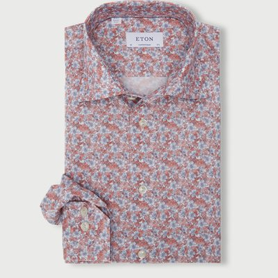 Flower Twill Shirt Flower Twill Shirt | Rød